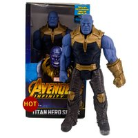 Wholesale toys resale online - 2019 new arrival Avengers Marvel Movies Action Figures Hulk Thanos Hulkbuster Activity dolls model toys