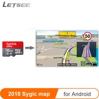 Wholesale car gps online - Car GPS map micro SD cards GB for Sygic Map Andriod system Navigation free update Europe Russia spain middle east