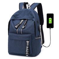 c7cf8e020d8d good quality Large Capacity Laptop Usb Charging Backpacks Men Women  Business Backpack Bag For College School Backpack Escolar Mochila