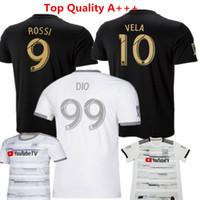 Wholesale usa soccer uniforms resale online - Football Shirts LAFC Carlos Vela Soccer Jerseys Los Angeles FC Uniforms GABER ROSSI CIMAN ZIMMERMAN Black USA Ropa de fútbol MLS Kids