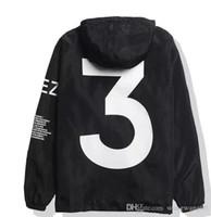 tamaño de la chaqueta del oeste de kanye al por mayor-2018 KANYE WEST chaqueta Hombres Hip Hop Cazadora MA1 Pilot Hombre Chaquetas Tour YEEZUS Season Y3 Coat tamaño EE. UU.