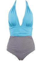 biquíni grande conjunto venda por atacado-2019 novo grande terno de natação das mulheres, Um pedaço swimsuit, tamanho grande, tamanho grande swimwear flexível Elegante Bikinis Set, swimwear praia das mulheres