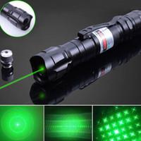 lasers d'extérieur vert bleu rouge achat en gros de-Randonnée en plein air pointeur laser haute puissance vert bleu rouge point lumière laser stylo mètre puissant