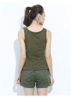 frauen baumwoll-unterhemd großhandel-Marke Freearmy Sommer Tank Tops Mädchen Star Print Baumwolle T-Shirts für Frauen ärmellose Weste Unterhemden weibliche Unterhemd Großhandel