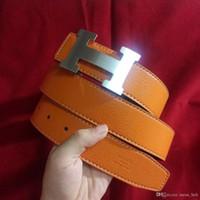 cinturón de tela amarilla al por mayor-2019 Nueva moda para hombre de negocios cinturón de lujo cinturón de diseño suave hebilla cinturones de cuero genuino para hombres diseñador de marca envío gratis