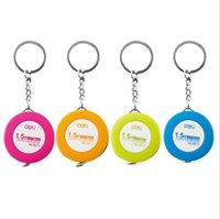 брелок для ключей оптовых-Оптовая творческий 8213 конфеты цвет брелок рулетка 1.5 м измерительная лента, телескопическая маленькая рулетка