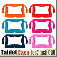 Wholesale Kids Soft Silicone Rubber Gel Case Cover For Q88 A13 A23 A33 Q8 Android Tablet PC