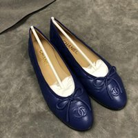 Wholesale women flat loafers resale online - 2020 Leather loafers shoes with buckle Brand Fashion Women a variety of style slippers Ladies Casual Flats xn1232