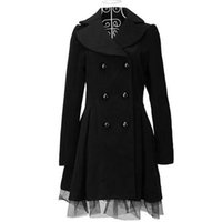 женские сапоги оптовых-ZOGAA  Women Long Trench Coat Spring Autumn Double Breasted Solid Slim Fit Overcoat Lace Windbreaker Outwear Women Clothing