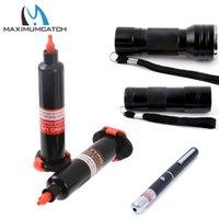 moscas de cola al por mayor-herramienta Maximumcatch UV Luz UV Pen Glue Fly herramienta herramientas Herramientas