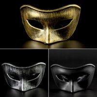ko großhandel-Halloween Cosplay Venezianische Maske Kreative Maskerade Party Kunststoff Homme Kleidung Damenkleider Mode-stil Casual Apprel