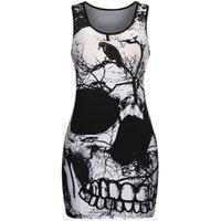 PattyCandy Mens Cool Designs of Skulls Mens Basketball Tank Top,XS-3XL