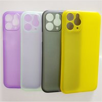 Wholesale iphone 5c green for sale - Group buy Hot Sale Case For iPhone pro X C Plus Super Ultra Thin Slim Smooth Transparent Clear Soft PP Colorful Cover Case