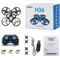 Wholesale blade helicopters for sale - Group buy 3 Batteries Mini Drone Rc Quadcopter Fly Helicopter Blade Inductrix Drons Quadrocopter Toys For Children Jjrc H36 Dron Copter