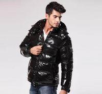 clássico homens inverno casacos venda por atacado-2020 do homem casaco para baixo marca clássico Casual Jacket para baixo outwear brilhante fosco de Down Coats Mens Outdoor vestido Quente Feather Unisex Inverno quente Brasão