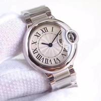 mens kalite izleme kutusu toptan satış-2019 Yeni Moda Lüks Saatı Mens Womens En Kaliteli 316L Paslanmaz Çelik Bant Kuvars Tasarımcı Saatler Klasik Kutusu Hediye Ile Klasik Reloj