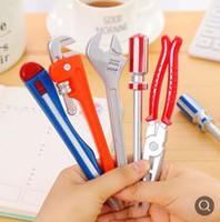 ingrosso strumenti hardware di qualità-Strumenti hardware di personalità Cancelleria coreana Penne a sfera creative Penne di qualità Ufficio scolastico Forniture per regalo