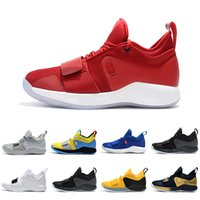 2f429d1680c8a Fresno Champion PG 2.5 University Red Opti Yellow Men Basketball Shoes  Racer blue White Black Wolf Grey Mens Paul George sports sneakers