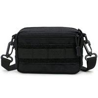 mini saco de cintura para homens venda por atacado-Saco do Mensageiro Mini Crossbody Ombro Nylon Saco de Cintura Pessoal de Defesa Homens Faixa Ultra-Light