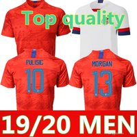 a68fea17a Thai quality 19 20 USA PULISIC Soccer Jersey 2019 DEMPSEY BRADLEY ALTIDORE  WOOD America Football jerseys United States Shirt S-XXL