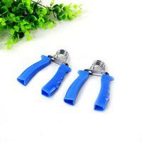 Wholesale portable hand grip resale online - Foam Cotton Handgrip Home Fitness Necessary Small Grips Sport Blue Portable Easy To Use Hand Muscle Developer jwD1