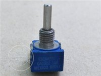 Wholesale Two Hand Bourns caaz20 Ga0302 k Single Lian Potentiometer Shank Diameter mmf