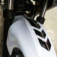 guardabarros de motocicleta al por mayor-1pcs de la motocicleta reflectantes Sticker pegatinas y calcomanías Moto accesorios de la motocicleta pegatina en la bicicleta de los guardabarros decoración