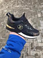 karışık boyut ayakkabıları toptan satış-ÜCRETSIZ NAKLIYE lüks deri rahat ayakkabılar kadın tasarımcı spor ayakkabı erkek ayakkabı deri moda karışık renk büyük boy 36-45