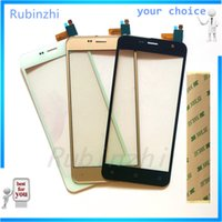 Wholesale prestigio phone online – custom RUBINZHI Phone Touch Screen Digitizer For Prestigio Muze B3 PSP3512DUO PSP3512 DUO Touchscreen Front Glass Sensor Panel tape