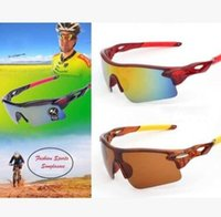 Wholesale outdoor sport night vision sunglasses resale online - Explosion proof Sunglasses Men Safety Outdoor Sports Cycling Bicycle Bike Riding Fishing Sunglass Night Vision Goggles Eyewear Sunglasses