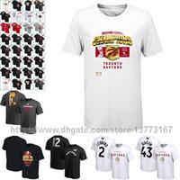 Wholesale spring men t shirt for sale – custom Toronto TOR Raptors HOT jersey Finals Champions Celebration Roster Performance Basketball T Shirt White and Black