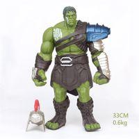 Wholesale dolls hulk online - Dusk Of The Gods Model Toy The Avengers Gladiator Hulk Raytheon The Film Doll Movable Male And Female Popular Gift yx I1