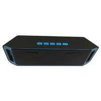 ingrosso mini pc portatile-Altoparlanti Bluetooth senza fili di SC208 Altoparlanti mini musica portatile Bass Sound Subwoofer Altoparlanti per Iphone Smart phone e Tablet PC