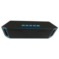 tablet için müzik hoparlörü toptan satış-SC208 Kablosuz Bluetooth Hoparlörler mini hoparlör taşınabilir müzik Bas Ses Subwoofer Hoparlörler Iphone Akıllı telefon ve Tablet PC için