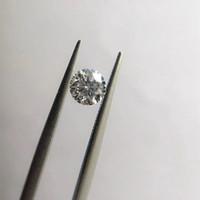 diamantes sueltos redondos al por mayor-1pc 1 DF crecidas laboratorio Moissanite piedra VVS1 perfecto corte redondo flojo del anillo de diamantes de talla para la Mujer Colgante Haciendo Fine Jewerly