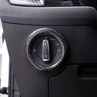 Wholesale skoda interior for sale - Group buy For Skoda aq Karoq ABS Plastic Interior Headlight Headlamp Switch Cover Trim Car Styling