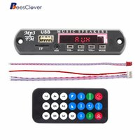 Wholesale decoder cars resale online - BEESCLOVER Car Stereo DC12V MP3 Decoder Board SD Audio Module USB TF AUX FM Radio Remote Digital Display Support MMC SD MMA r18