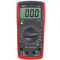 ingrosso tester di resistenza all'isolamento digitale-Tester di capacità di induttanza digitale palmare portatile Tester UNI-T UT601 Tester di isolamento RESIOSTOR Meter 20ohm - 2000Mohm Resistance