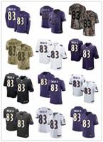 camisetas de rugby de las mujeres al por mayor-NCAA 2019 personalizada cualquier número de numera mejor Camiseta de rugby Use Baltimore 83 Willie Snead IV Ravens hombres / MUJERES / JÓVENES Rugby Jerseys s-xxxxl