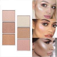 ingrosso mineralizzare il makeup blush-SACE LADY 3 colori Makeup Shimmer Matter Blush Bronzer Contorno viso Mineralize Fard Tavolozza polvere Evidenziatore Trucco