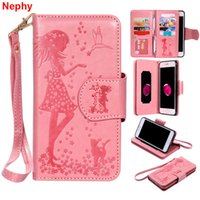 Wholesale cell phone cases for girls online – custom Nephy leather Soft Case For iPhone s S Plus X S SE SE Plus SPlus Plus Plus girl Luxury wallet Cell Phone Cover T191017