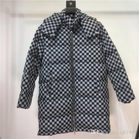 bölümler sweatshirt hoodies toptan satış-19AW lüks Paris Marka Tasarım L Uzun bölüm Aşağı Ceket mont Tişörtü Moda Yansıtıcı Triko Streetwear Açık Kapüşonlular V Coat