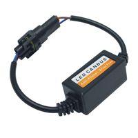 ingrosso h11 led resistenza-2pcs Car LED Errore di cancellazione del carico libero del resistore del resistore del faro per H8 / H9 / H11 LED Head Light Canbus Error Free Wiring # 5570