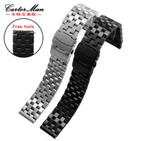 Wholesale s3 tools resale online - New Stainless steel watchband high quality mm mm for Samsung classic Gear S2 S3 Ticwatch smart watch bracelet free tools