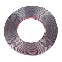 Wholesale car moulding trim strip resale online - Car Decorative Chrome Moulding Trim Strip Silver Tone M x mm