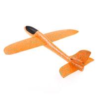 детские игрушки для мальчиков оптовых-1pcs For Children Airplane Made Of Foam Plastic Epp Hand Launch Free  Glider Aircraft Hand Throw The Plane Model Toys Gift
