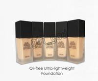 ingrosso trucco di fondamento luminoso-Più nuovo trucco per tutto il giorno Luminous Weightless Foundation Cosmetics 1FI. Oz. 30mL 6 colori Makeup Base Face Concealer spedizione gratuita