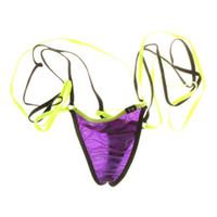 seksi askı ipleri toptan satış-Bikini Sıcak Satış erkek Iç Çamaşırı Seksi erkek Tanga G-string Jartiyer Kostüm Oynamak Eşcinsel İç İç Jockstrap Cueca Eşcinsel