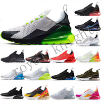 hava yastıklı koşu ayakkabıları toptan satış-Büyük 36-49 47 48 Buharlar Tn 270 Hava Yastık Sneakers Erkek Platin 270S Spor Tasarımcı Koşu Ayakkabı 27c Kadınlar Trainer Ayakkabı maxes Boyut 13 14