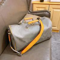 The New 2020 Laser Hand Luggage Travel Bag Waterproof Duffel Duffle Men Handbag Tote Boys European And American Style Unisex Women